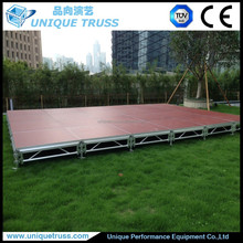 Hot sale event stage, aluminium plywood stage, wedding decoration stage