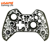 New arrvial high quality hydro dipped controller front plastic shell for ps4