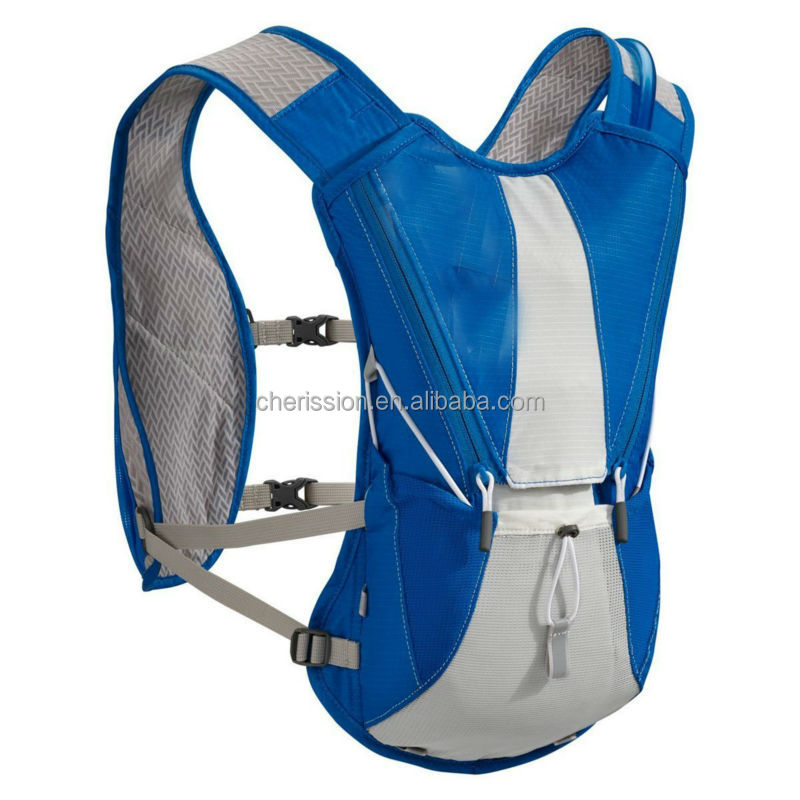 Blue thermal water bag with 2L bladder