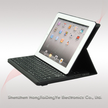 Bluetooth 3.0 Bluetooth Keyboard for IPad 2/3/4 with PU case and rotated case
