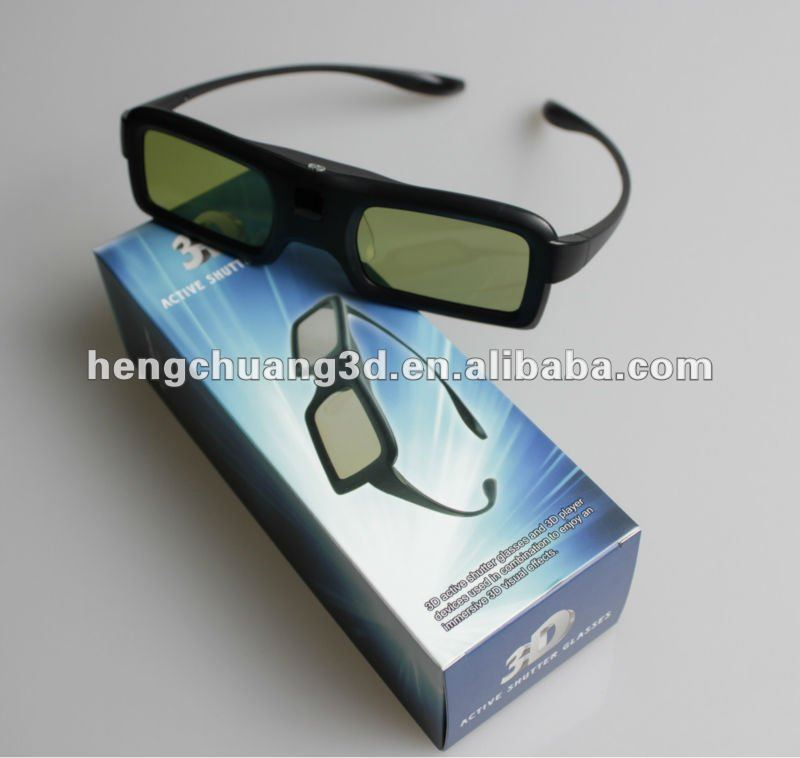 Bluetooth active shutter 3d glasses for Samsung 3D TV TV stype 3d glasses