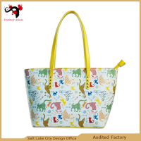 Fashion modeling waterproof felt tote bag