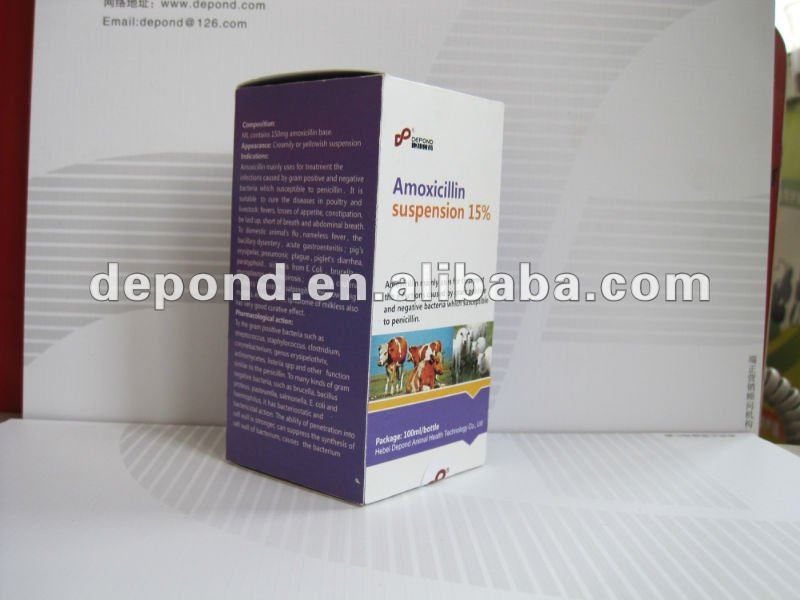 amoxycillin injection 15%