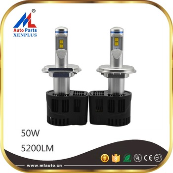 P6 Led Headlight 55w 5200lm H4 Led Car Lamp