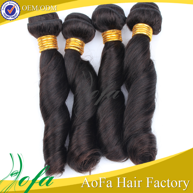 Top soft and 100 percent remy wholesale weaving vigin brazilian hair