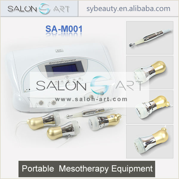 Electroporation machine no needle mesotherapy beauty device