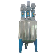 Stainless steel jacket reactor vessel