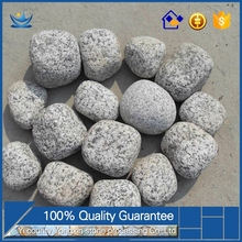 economy new style Black and white mix cobble stone for garden floor black stones for landscaping