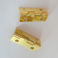 Good quality small iron metal hinges for jewelry box