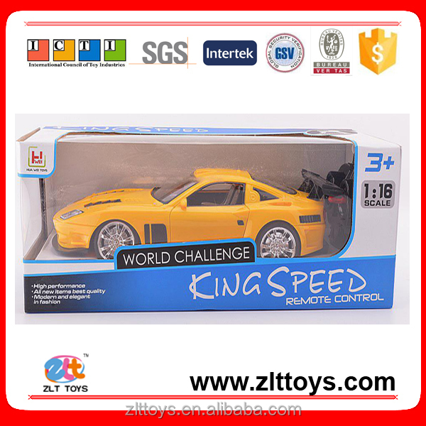 1:16 4 channel cheap remote control car with headlights
