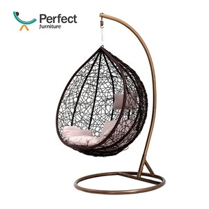 2019 Best Selling Patio swing hanging chair balcony rattan furniture