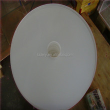 6'' round shape Acrylic plastic sheet led light diffuser