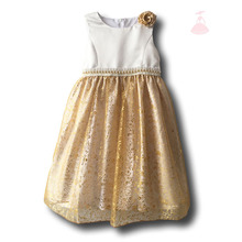 2-12 years age latest designs party wear frocks long polyester dress