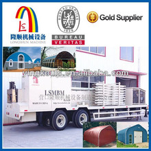 Sheet Curving Roof Building Machine/Long Span Frameless Building Machine
