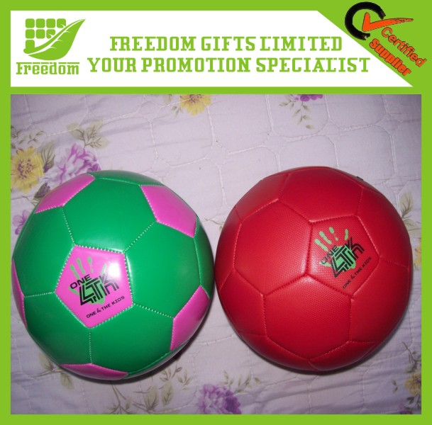 Promotional Logo Printed PVC Cheap Soccer