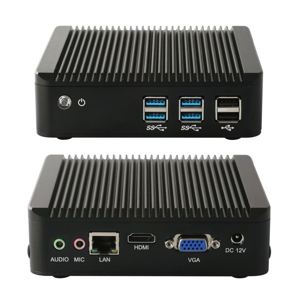 3 years warranty net computing i3 fanless 4*usb3.0+2*usb2.0 ports,supporting 2.5 HDD and m-SATA
