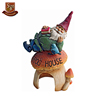 Customized size colorful hand-paint classy cheap resin funny garden gnome, decorative polyresin little man figurine