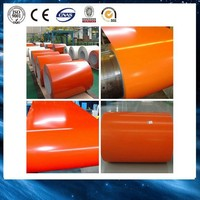 Best quality prepainted steel/ color coated DX51D wall, rolled door, metal roofing