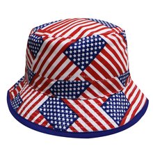 Hot selling custom country american flag bucket hat