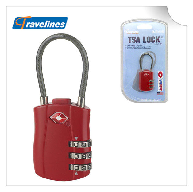 A5104 3-Dial Combination TSA Lock