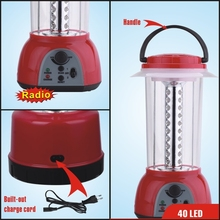 rechargeable lamp light with FM/AM radio