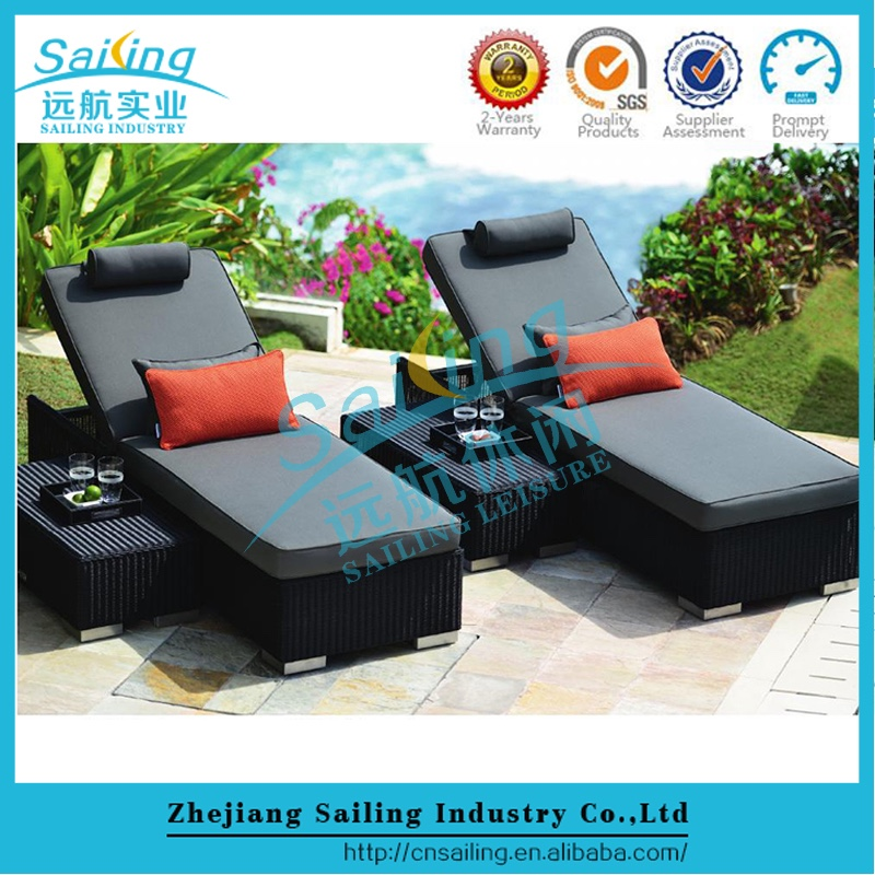 Outdoor Lowest Price l Shaped Sofa With Recliner