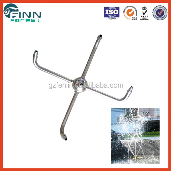Rotating Dancing Swing Fountain Nozzle