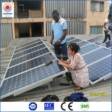 high efficient 300W monocrystalline solar powered advertising panels for sale