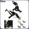 BJ-ARS-MT07B CNC Aluminum FZ07 Foot rest Adjustable Rearset for Yamaha MT07 2013-2016