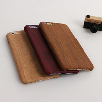 wood pattern thin tpu phone case for iphone 6 case