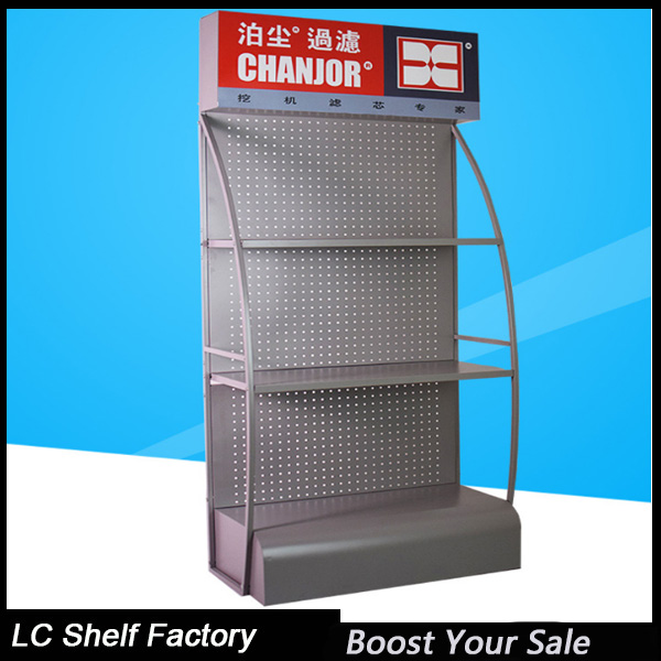free standing motor engine bottle oil display stand for 4s shop