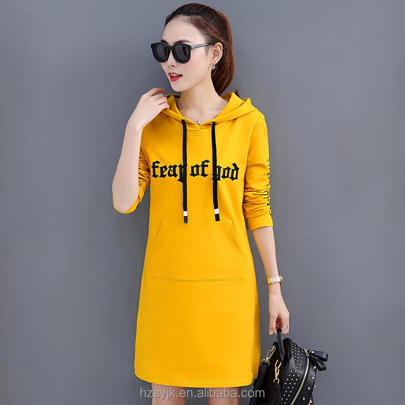las cobertura capa coreana suéter moda ocasional con suelto 2018spring largo mujeres Nueva Cobertura femenino de 2018 Comprar vestido párrafo Primavera otoño capucha y 8xqwXZW1f