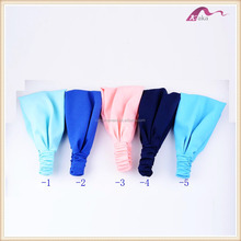 Promotional Cheap Fabric Elastic Head Wrap Accessories For Women Hair