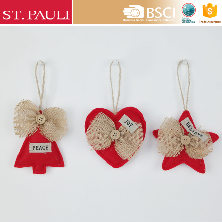 hot sale handmade Christmas hanging new product