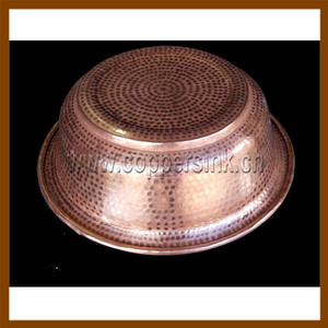 handcraft Pure Copper Wash Basin