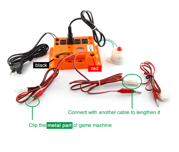 LK209 Anti theft cheating barking dog alarm for Slovenia coin pusher type amusement ride game machine