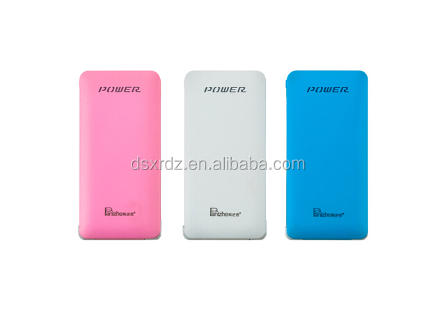Free sample Thin Slim Power Bank 10000mah portable charger External Battery for mobile phone charger