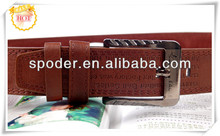 2014 top quality Custom Casual Genuine first Leather belt with pin buckle