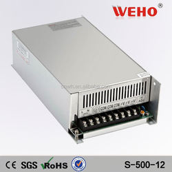 High efficiency 500W 40A psu switching power module 12v led power supply