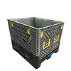 Collapsible & stackable plastic bulk mega bins for electronic industry