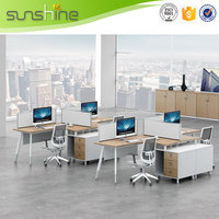Fashion Cheap Price Hot Sale Wooden Panel Workstation Furniture Buy From China