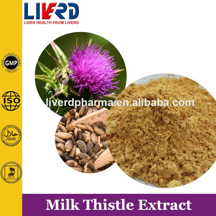 China ISO Factory Supply Healthy Milk Thistle Softgels