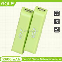 Hot Selling 2600mah Portable Mobile Power Bank for smartphone
