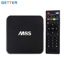 Top Seling Google 1080P 2Gb 8Gb M8S Quad Core Amlogic S812 Download Android 4.4 Smart Tv Dvb T2 E Digital Set Top Box