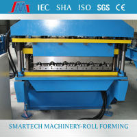 Aluminium steel metal profile tile roll forming machine for Africa market