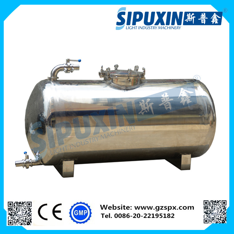 Sipuxin horizontal edible oil storage tank for food grade