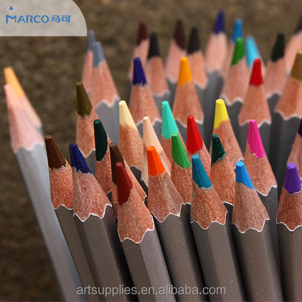 72 piece colored pencil, oil based colored drawing pencils