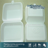 Foam Tray Disposable Foam Food Containers with Lid