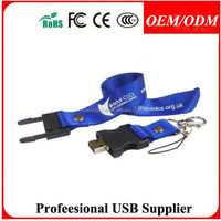 E-Power OEM Popular 16GB Lanyard PVC Bus Shape USB Flash Drive U808 , Free sample