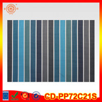 vinyl roll floor mat material stripe vinyl place mat blind vertical uv protect fabric window shutter vinyl roll material fabric